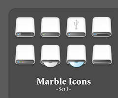 Marble Icons :: Set I by grevenlx