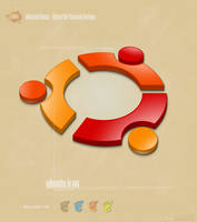 Ubuntu Linux Logo Icon by grevenlx