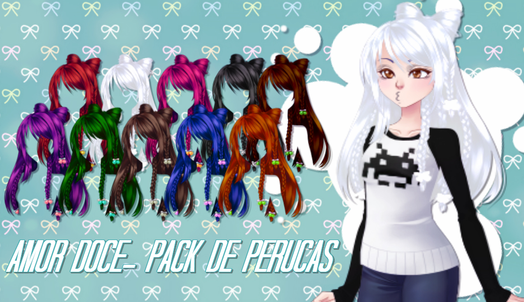 Muito Amor Doce- Pack Perucas by isathecat09 on DeviantArt IM98