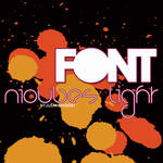 Font Nioubes Light