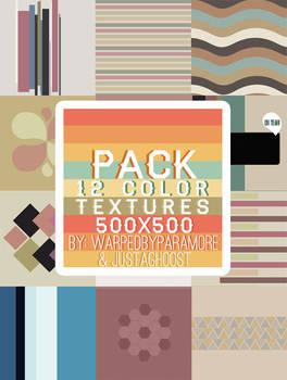 12 color textures
