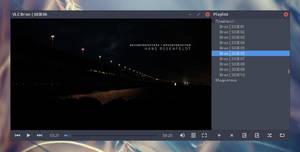 Arc Dark VLC