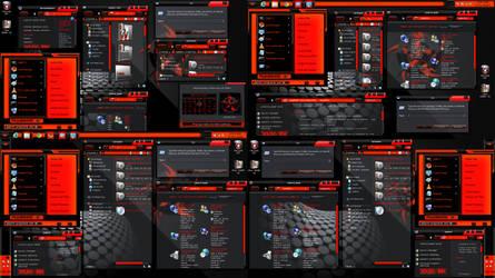 Window 8 Theme Xux Ek .. (red)