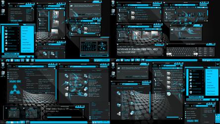 Windows 8.1  theme (xux-ek blue)