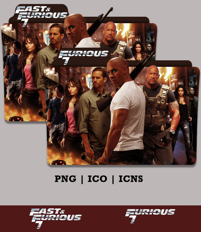Furious 7 Folder Icon 2015 Version 2 by Bl4CKSL4YER on DeviantArt