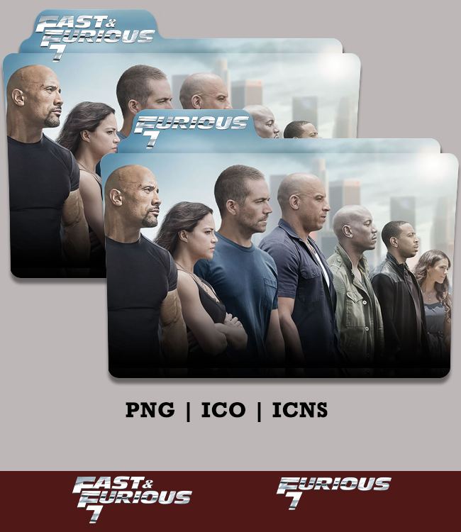Furious 7 Folder Icon 2015 Version 1 by Bl4CKSL4YER on DeviantArt