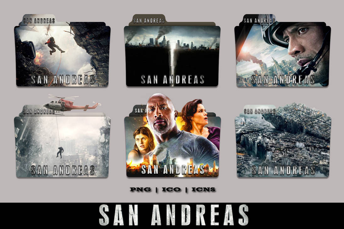 San Andreas Folder Icon Collection 2015 By Bl4cksl4yer On Deviantart