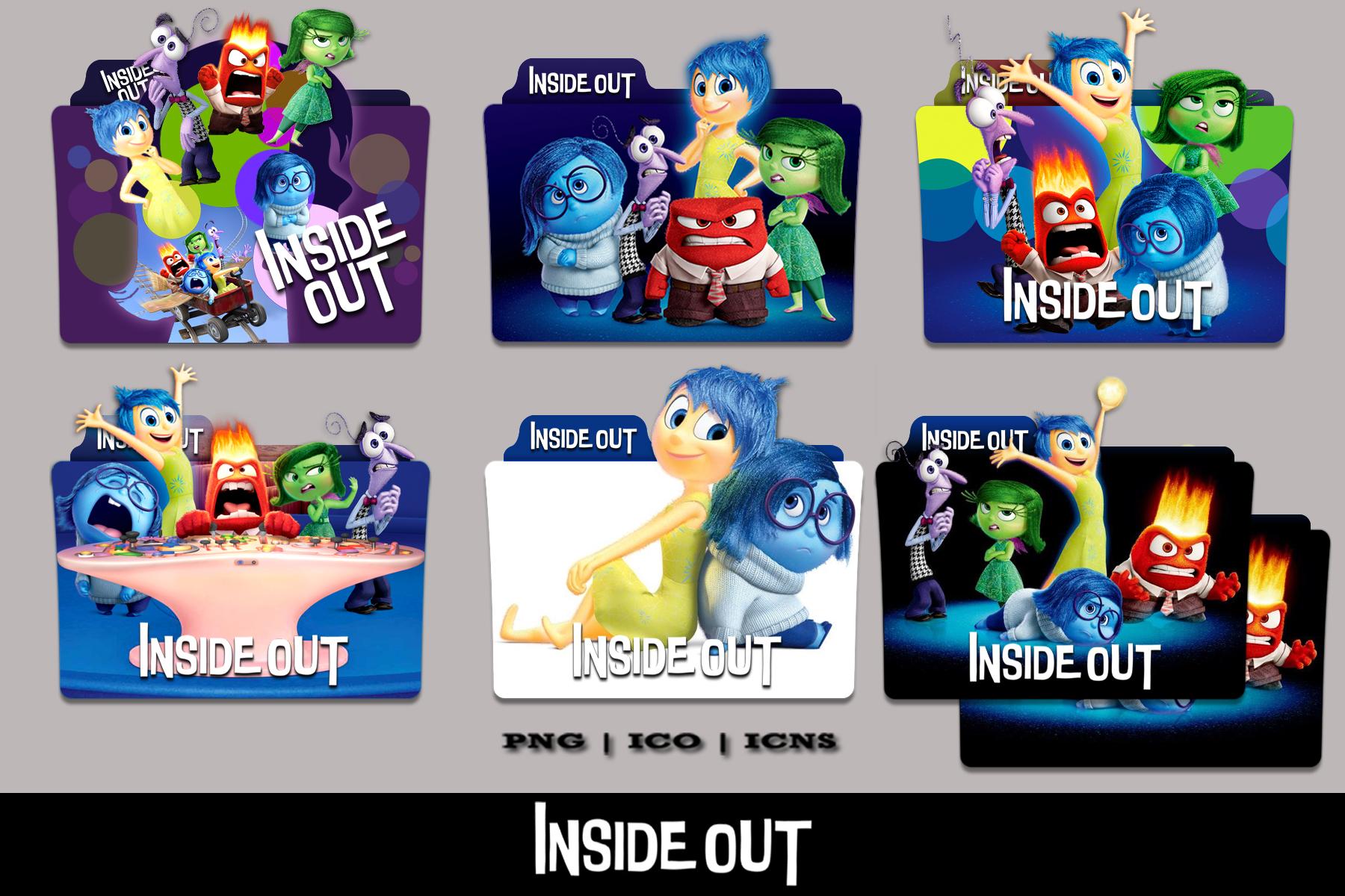 Inside Out 2015 Folder Icon Mega Pack By Bl4cksl4yer On Deviantart