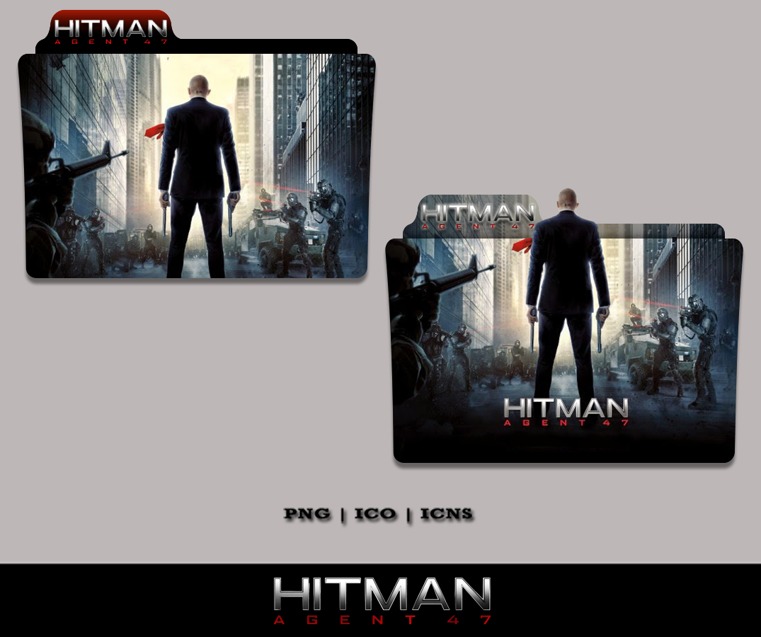 Hitman Agent 47 Folder Icon 2015 By Bl4cksl4yer On Deviantart