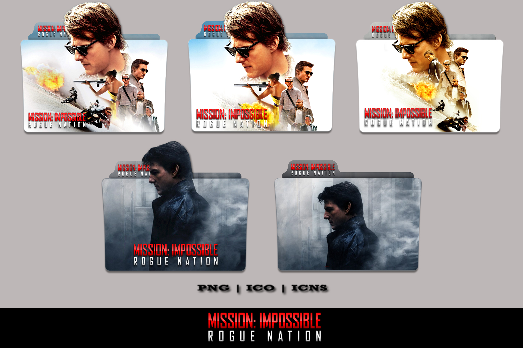 Mission Impossible - Rogue Nation Folder Icon Pack by