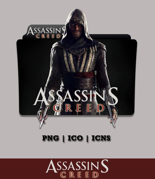 Assassins Creed Movie Folder Icon 2016 By Bl4cksl4yer On Deviantart