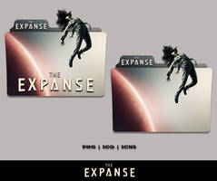 The Expanse Folder Icon (2015) by Bl4CKSL4YER
