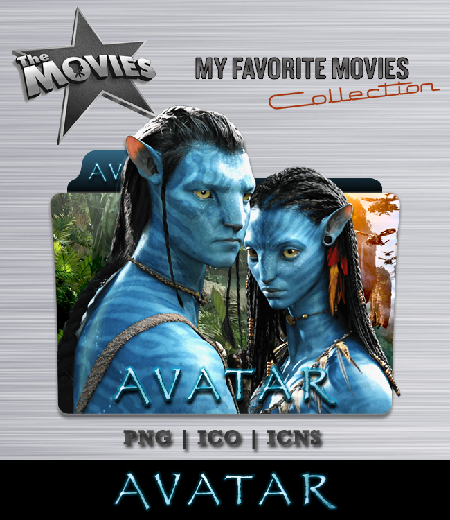 Avatar 2009 Film: Avatar Folder Icon By Bl4CKSL4YER On DeviantArt