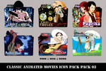Classic Animated Movies Icon Pack 03
