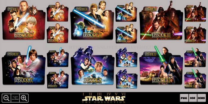 Star Wars Collection Folder Icon Pack by Bl4CKSL4YER