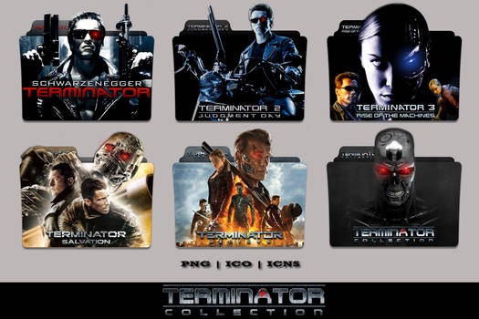 Terminator Complete Collection Folder Icon Pack