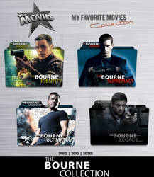 The Bourne Collection Folder Icon Pack by Bl4CKSL4YER