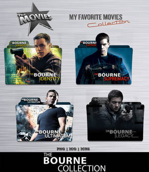 The Bourne Collection Folder Icon Pack