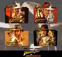 Indiana Jones Movie Collection Folder Icon Pack