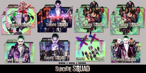 Suicide Squad (2016) Folder Icon Mega Pack