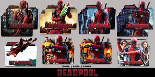 Deadpool (2016) Folder Icon Mega Pack