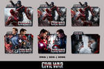 Captain America Civil War (2016) Folder Icon Pack