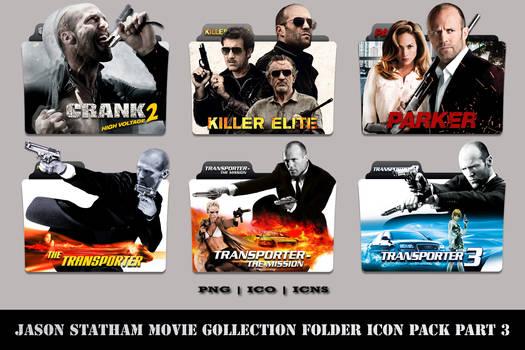 Jason Statham Movie Collection Folder Icon Pack #3