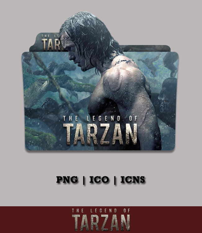 The Legend Of Tarzan 2016 Folder Icon By Bl4cksl4yer On Deviantart