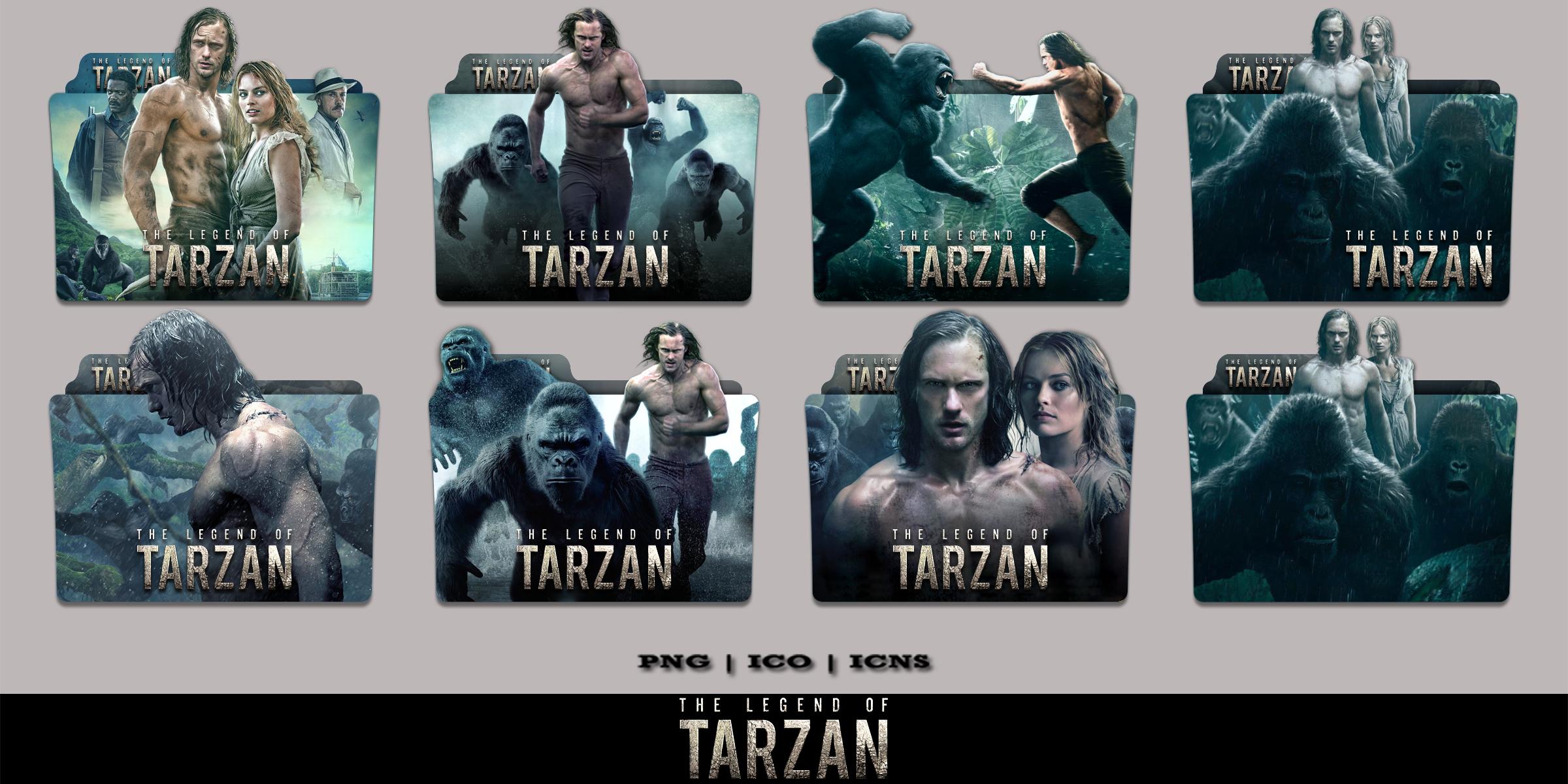 The Legend Of Tarzan 2016 Folder Icon Pack By Bl4cksl4yer On Deviantart
