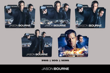 Jason Bourne (2016) Folder Icon Pack