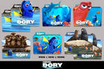 Finding Dory (2016) Folder Icon Pack