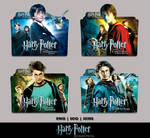 Harry Potter 1 - 4 Collection Folder Icon Pack 1