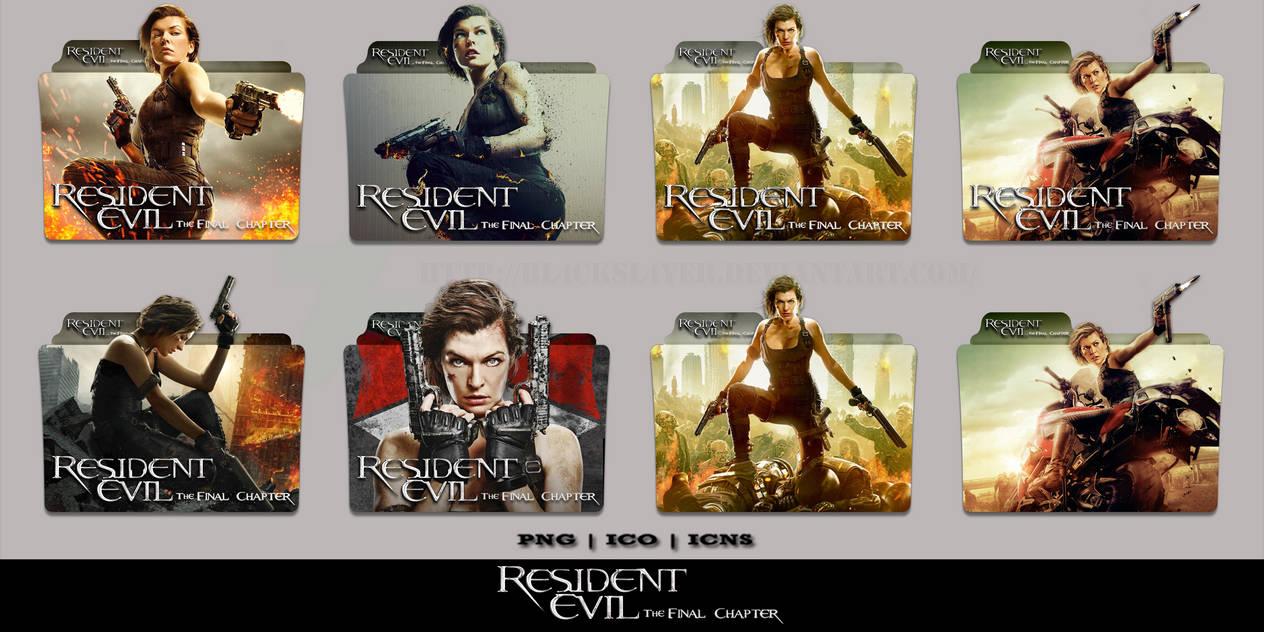 Resident Evil The Final Chapter 2016 Folder Pack By Bl4cksl4yer