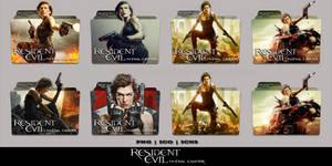 Resident Evil The Final Chapter (2016) Folder Pack