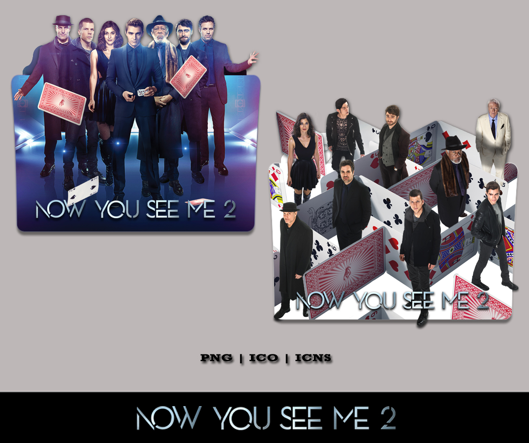 Now You See Me 2 2016 Folder Icon Pack By Bl4cksl4yer On Deviantart