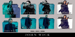 John Wick (2014) Folder Icon Pack