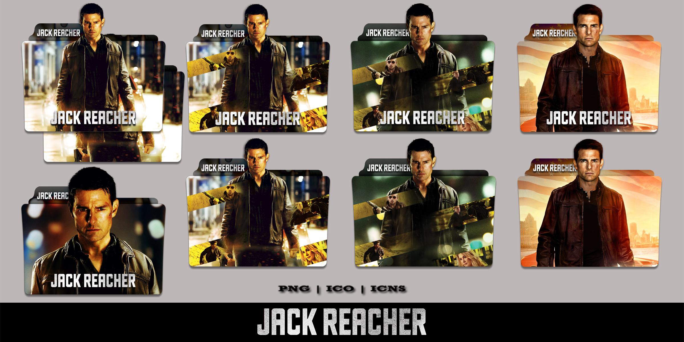 Jack Reacher 2012 Folder Icon Pack By Bl4cksl4yer On Deviantart