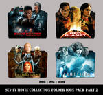 Sci-Fi Movie Collection Folder Icon Pack Part 2