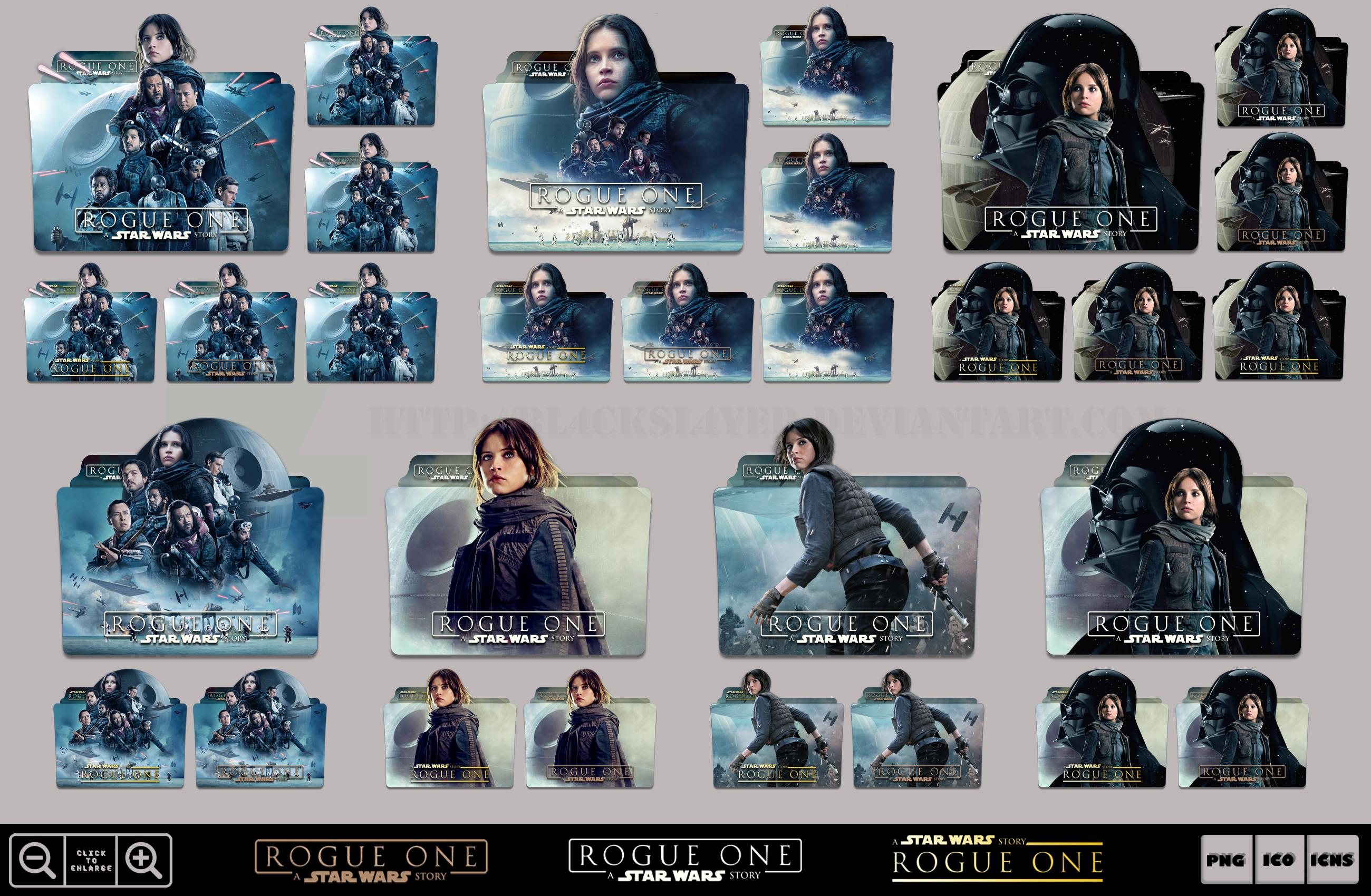 Rogue One A Star Wars Story 2016 Folder Pack 2 By Bl4cksl4yer On Deviantart