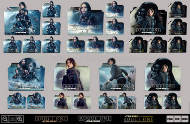 Rogue One - A Star Wars Story (2016) Folder Pack 2 by Bl4CKSL4YER