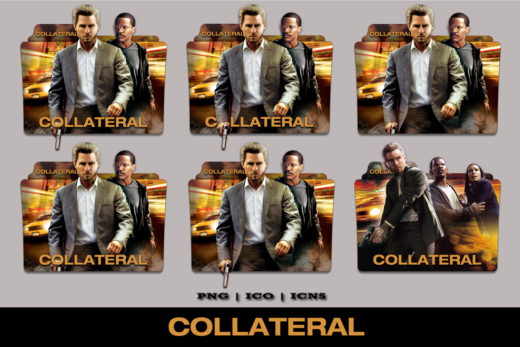 Collateral Folder Icon Pack By Bl4cksl4yer On Deviantart