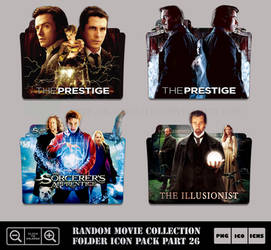 Random Movie Collection Folder Icon Pack Part 26