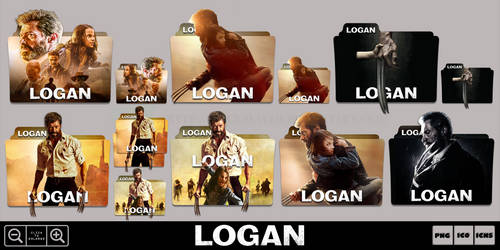 Logan (2017) Folder Icon Pack