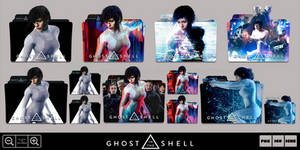 Ghost in the Shell (2017) Folder Icon Pack by Bl4CKSL4YER
