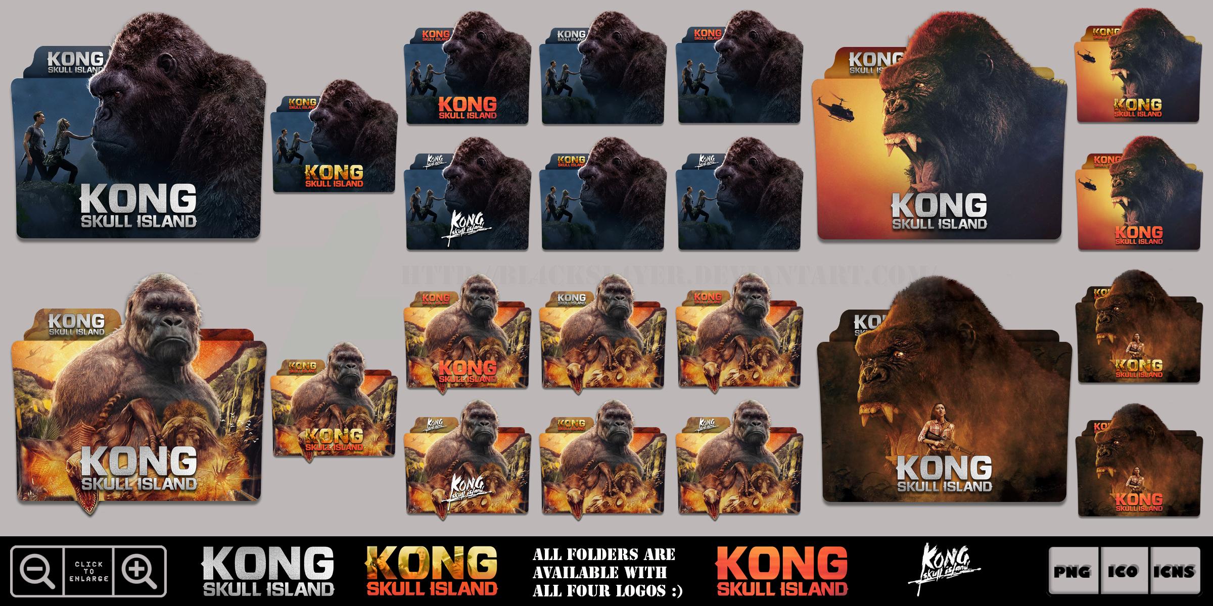 Kong Skull Island 2017 Folder Icon Pack By Bl4cksl4yer On Deviantart