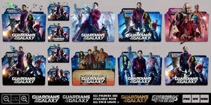 Guardians of the Galaxy (2014) Megaaaaaa Icon Pack