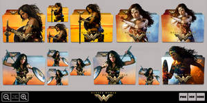 Wonder Woman (2017) Folder Icon Pack