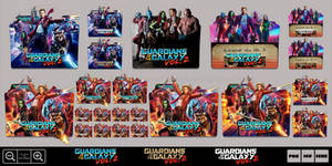 Guardians of the Galaxy Vol. 2 (2017) Icon Pack