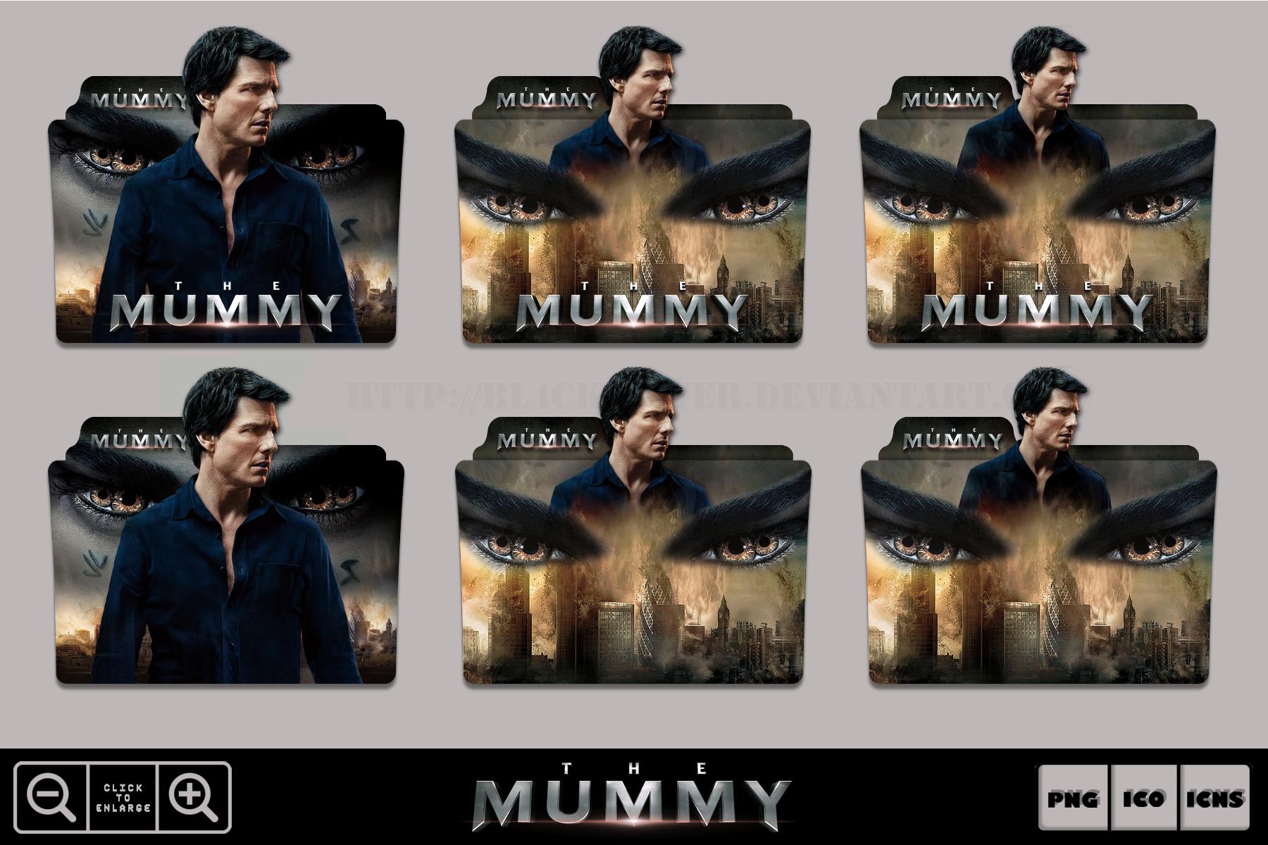 The Mummy 2017 Folder Icon Pack By Bl4cksl4yer On Deviantart