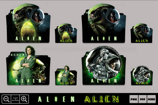 Alien (1979) Folder Icon Pack
